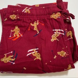 Old Navy Gingerbread Pajama Bottoms